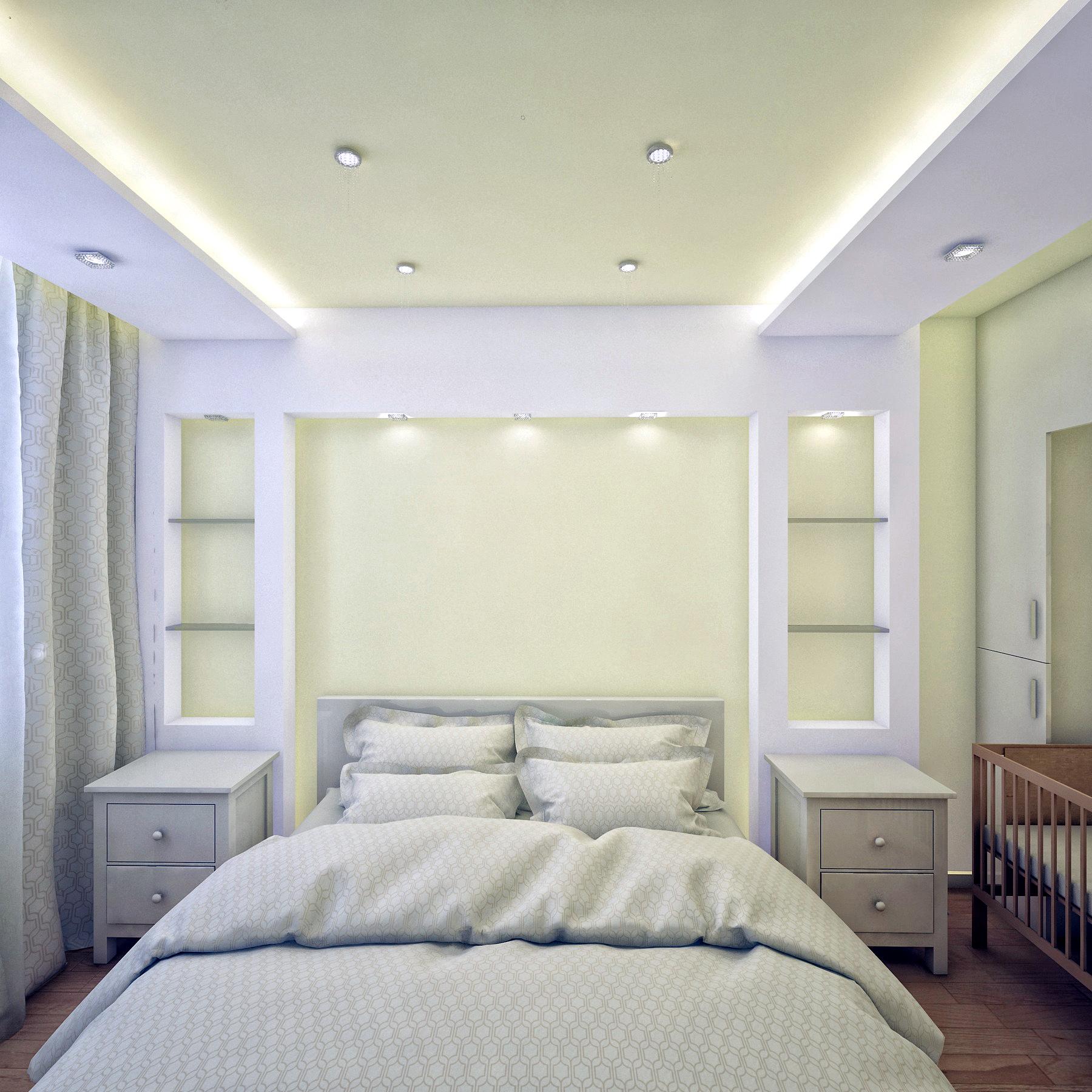 Спальня, вид на дверь